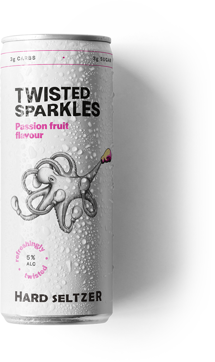 Twisted Sparkles laydown Passion